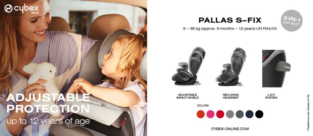Cybex Thailand Baby Store Car seats Pallas Recline 8