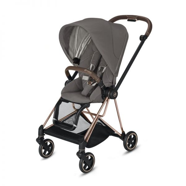 Cybex Mios Rose Gold Soho Grey