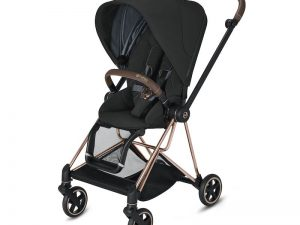 Cybex Mios Rose Gold Deep Black