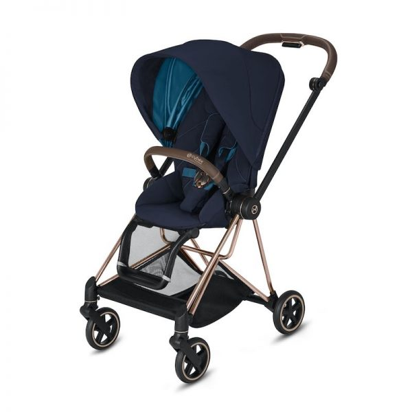 Cybex Mios Rose Gold Nautical Blue