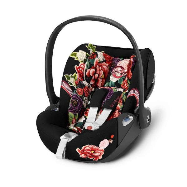 Cybex Car Seat Cloud Z Spring Blossom Dark